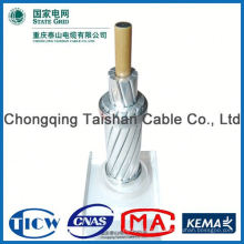 Factory Wholesale Prices!! High Purity overhead cable with bare messenger