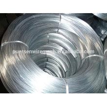Material de Buliding Alambre galvanizado / alambre de hierro galvanizado (alambre de carbón bajo Q195)