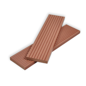 New generation eco-friendly brown composite decking