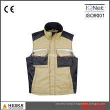 Heavy-Duty Cpocket Polyester Work Vest