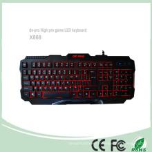 Accessoires de jeux Claviers de jeu professionnel PC LED rouge (KB-1901EL)