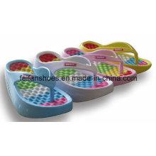 Nouvelle Arrivée Balançoires Pantoufles de Massage Intérieur Flip Flop Respirant Femmes Sandale