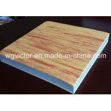 Коврик твёрдого зерна EVA Wood Grain
