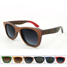 FQ marca atacado de alta qualidade de bambu quente de madeira polarizada óculos de sol