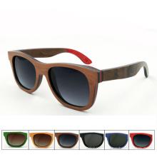 Марки ФК оптом высокого качества горячая бамбуковые деревянные поляризованные солнцезащитные очки