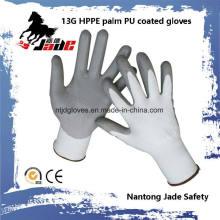 13G PU beschichtetes schneidenresistentes Handschuh Level Grade 5