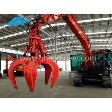 Excavator Grab Hydraulic Grab Orange Peel Grab Scrap Grab