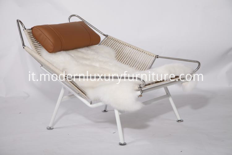 replica flag halyard lounge chair