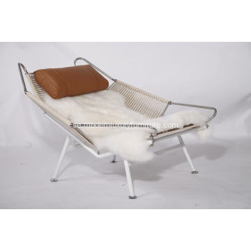 Flagg Halyard Modern Lounge Chair