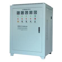 Station SBW-F à trois phases Régulateur de tension à compensation de phase intégrale Full-automatic Tension de stabilisation 100k