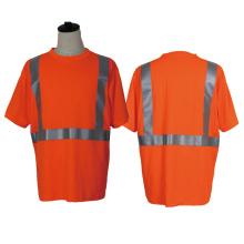 100% poliéster colete de segurança e camisas