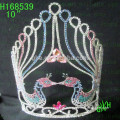 Wholesale cheap valentine's day Pageant Crowns Tiara large pageant crowns