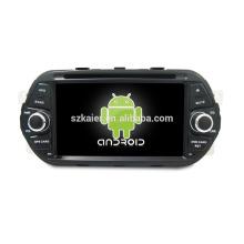 Quatro núcleos! Android 6.0 carro dvd para Egea com 7 polegadas tela capacitiva / GPS / Link Mirror / DVR / TPMS / OBD2 / WIFI / 4G