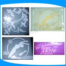 Película de transferencia de calor reflectante para el diseño gráfico, transferencia de logotipo reflectante