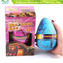 Ovos crescentes de Dinasour do animal de estimação que chocam brinquedos 8 * 12cm do ovo