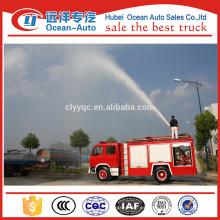 Dongfeng 4000liters mini camión de bomberos