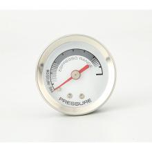 Manômetro de pressão de máquina de café de boa qualidade de venda quente manômetro de pressão de vapor
