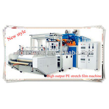 One meter high speed PE cling film production line