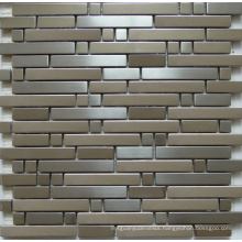 Mosaic Wall Tile, Stainless Steel Metal Mosaic (SM262)