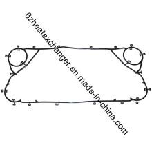 Junta do trocador de calor pode substituir Gea, Apv, Sondex