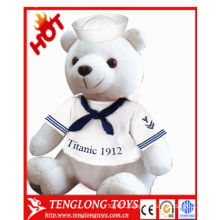 Cheap promotional Cute stuffed plush polar bear toy