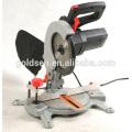 210mm 1200W Alu Base Scie à suture composée à découper en bois électrique Scie à allumage en aluminium GW8006X