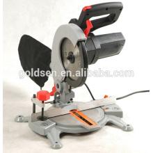 210mm 1500w Aluminio / corte de madera Power Mitre Saw Mesa portátil eléctrica eléctrica de la mesa GW8005A
