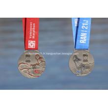 2018 Médaille des finisseurs de marathon de Vancouver