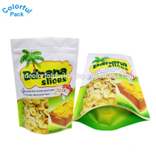 China custom chips packet stand up packaging aluminum foil ink bags 100 micron plastic bag