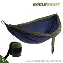 Branded Compressed Double-Sized Parachute Hammock