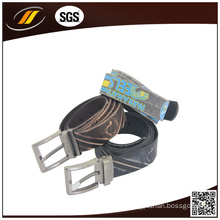 Men′s High Quality Emboss Leather Belt