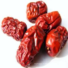 Dates fraîches de dattes rouges chinois grillées