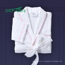 Roupa de cama / Luxo 100% algodão waffle / tery cloth / veludo roupão hotel
