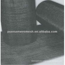 80 mesh Plain weave wire mesh/black wire cloth