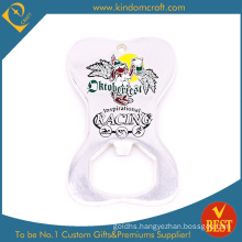 Fashion Silver Plated Enamel Bottle Opener at Factory Price (LN-0215)