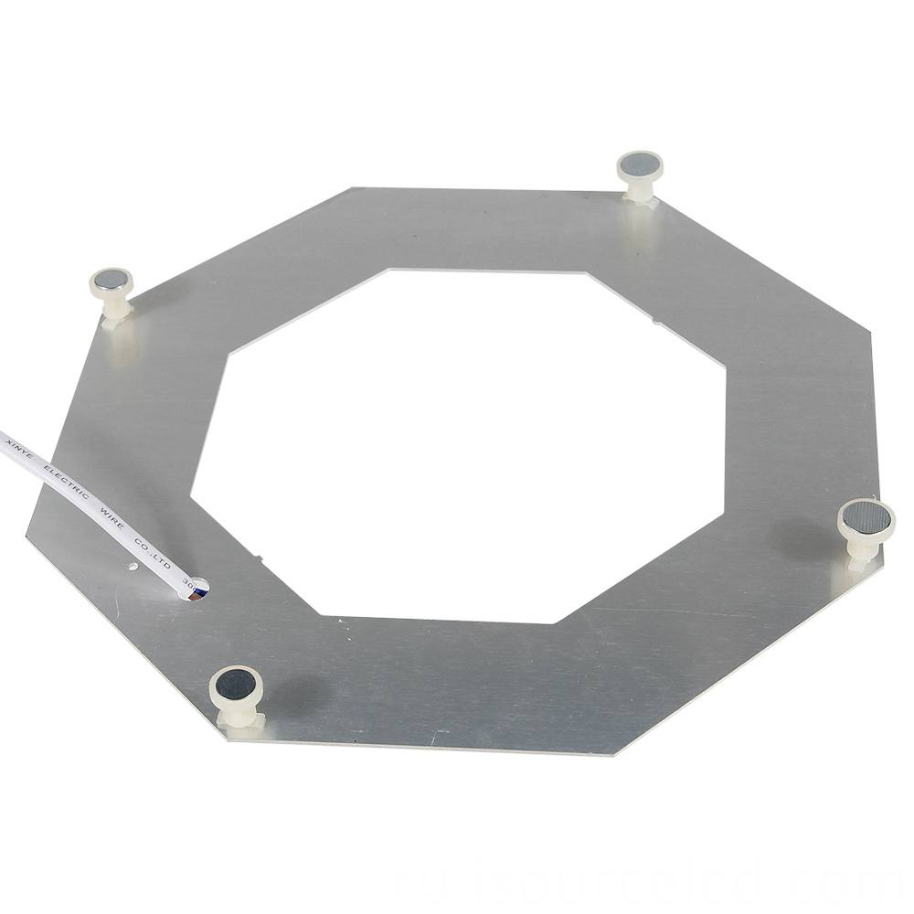 Led lens module bottom view