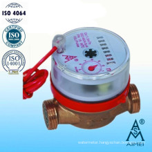 Single Jet Vane Wheel Dry Dial Remote Reading Water Meter