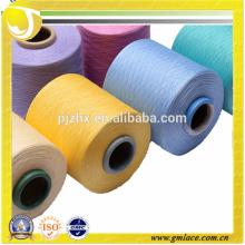 China al por mayor de poliéster Fdy hilo de alfombras de coser para hacer punto
