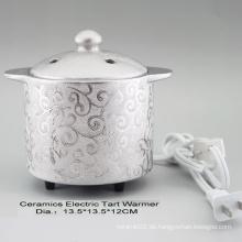15CE23902 Silber überzogener elektrischer Törtchen-Wärmer