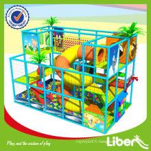 Équipement d'aire de jeux pour enfants doux et intérieur LE-BY007 Assurance de la qualité
