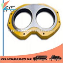 Chine adapté à la plaque d'usure des lunettes de soupape de la pompe à béton pm et bague de coupe