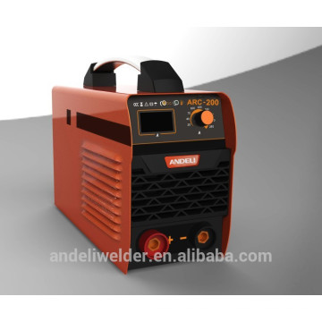 2014 new type good quality suit 3.2 4.0 mm welding electrodes IGBT DC inverter welding machine (MMA 200)