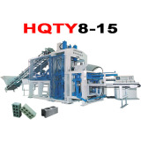 Hqty8-15 Hydraulic Frequency Vibration Brick Making Plant