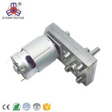 высокий вращающий момент низкий rpm 100кг.малый мотор DC коробки передач см для лепешки плита