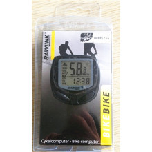 Пробег Водонепроницаемый LCD велосипед Компьютер одометр Спидометр