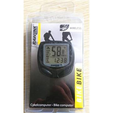 Drahtloser wasserdichte LCD Fahrrad Computer Tacho Tachometer