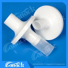 Filtre à spirométrie de produit médical jetable