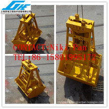 30t 15CBM single rope Wireless remote control grab for handing bulk material