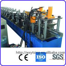 Fabricante profissional de passado CE e ISO YTSING-YD-7105 rain pipe rolo formando máquina / rolo anterior