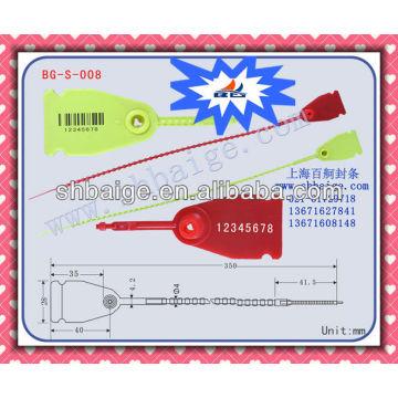 plastic push lock seal BG-S-008